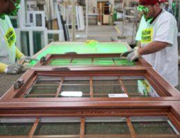 Factory-Worker-Making-Windows