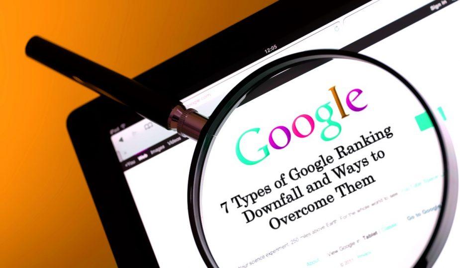 Types-of-Google-Rankinga