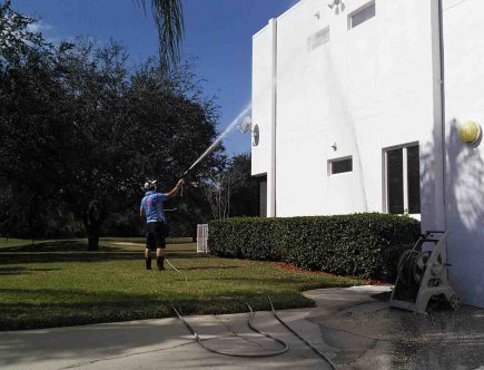 residential power washing services near me