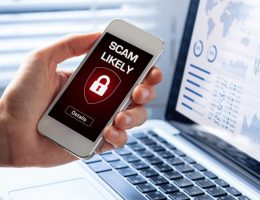 Security breach, smartphone screen, infected by internet virus, cyberattack hacking