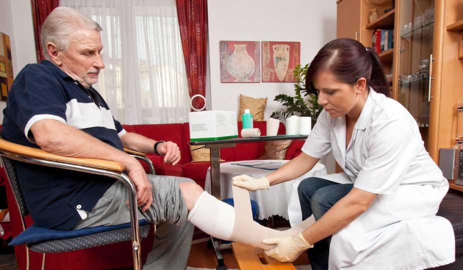 Wound care by nurses