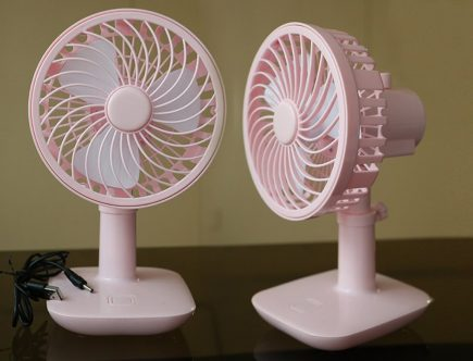 best rechargeable fan