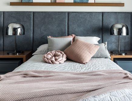 budget friendly cozy bedroom
